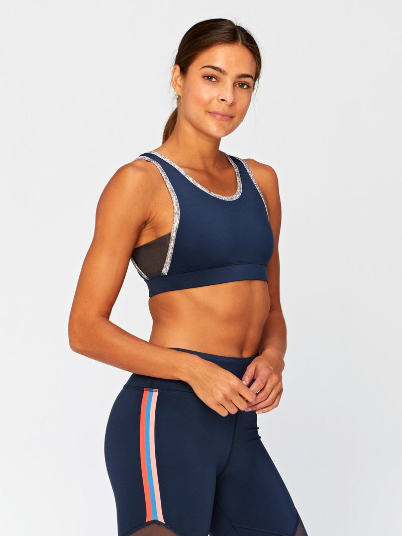 Marisol Strappy Sports Bra Womens Tops SportsBra Threads 4 Thought