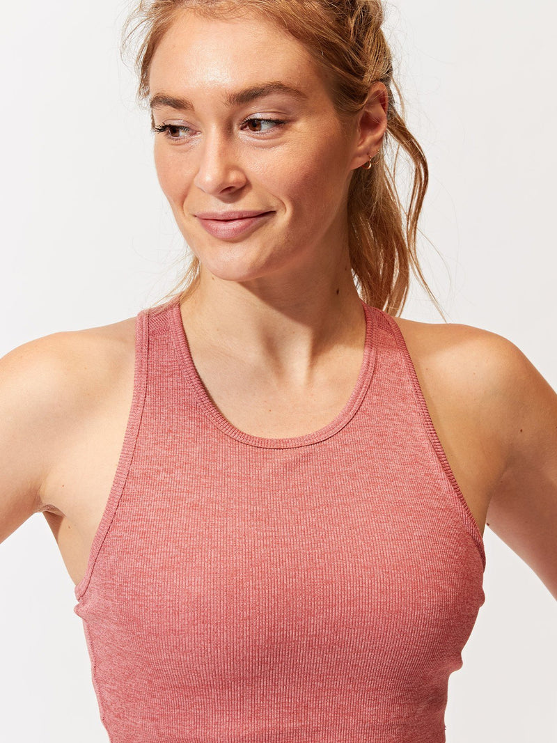Kensi Rib Sports Bra Womens Tops SportsBra Threads 4 Thought