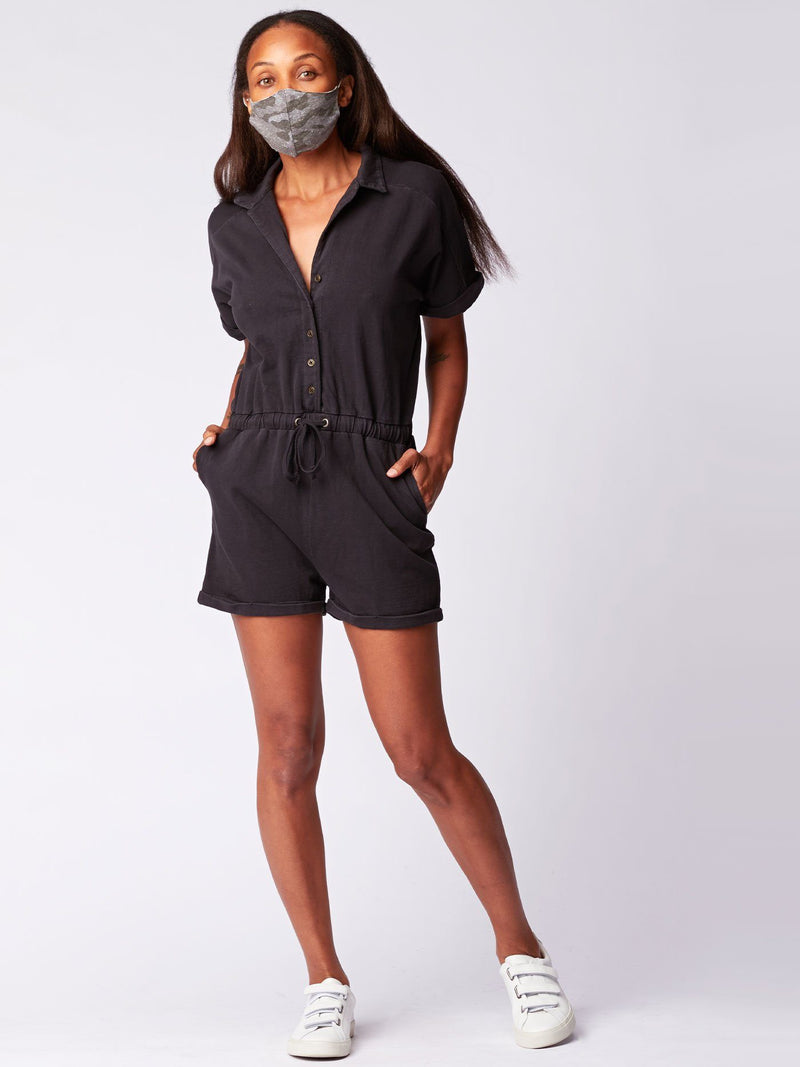 Leela Knit Romper Womens Rompers Threads 4 Thought