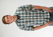 Performance Collection Westm Mens Long Sleeve Shirt 0438 Buffalo Line Plaid
