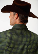 Men's Amarillo Collection- Meadow Amarillo Mens Long Sleeve 1258 Satelite Geo