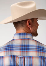 Men's Amarillo Collection- Copper Creek Amarillo Mens Long Sleeve 9641 Copper Creek Plaid
