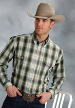 Amarillo Collection- Forest Lake Amarillo Mens Long Sleeve Shirt 8763 Harvest Plaid
