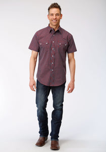 West Made Collection Westm Mens Short Sleeve 00078 Octo Geo