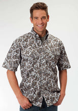 Men's Amarillo Collection- Desert Shadow Amarillo Mens Short Sleeve Shirt 0396 Vanguard Paisley