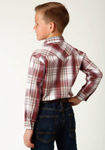 West Made Collection Westm Boys Long Sleeve 2602 Ex Dobby Plaid