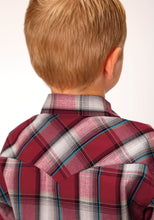 West Made Collection Westm Boys Long Sleeve 00328 Empire Plaid