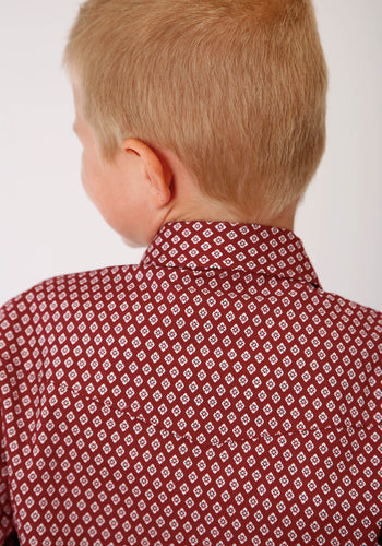 Boy's Amarillo Collection - Red Barn Amarillo Boys Long Sleeve 00153 Red Barn Foulard