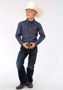 Boys Amarillo Collection- Lucky Clover Amarillo Boys Long Sleeve Shirt 0975 Last Chance Foulard