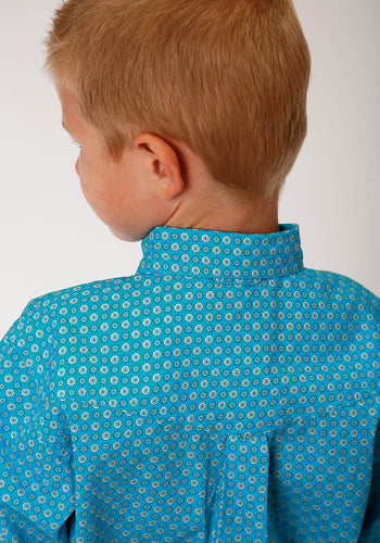 Boy's Amarillo Collection - Desert Sky Amarillo Boys Long Sleeve 00156 Vintage Foulard