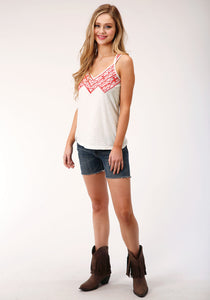Five Star Collection- Spring I 5star Womens Sleeveless 00125 Cotton Slub Jersey Tank
