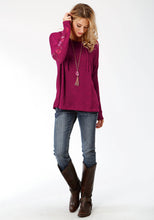 Studio West Collection- Native Arts Swest Womens Long Sleeve 9511 Hooded Sweater Wemb Sleeves