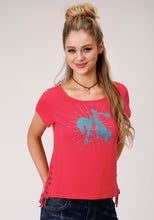 Five Star Collection- Spring Iii 5star Womens Short Sleeve 000133 Poly Rayon Jersey Tee