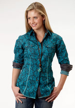 Performance Collection Westm Womens Long Sleeve Shirt 0706 River Paisley