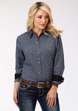 Performance Collection Westm Womens Long Sleeve Shirt 1248 Victorian Tile Print
