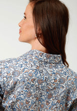 Ladies Amarillo Collection- Day Break Amarillo Womens Long Sleeve 3277 Sky Paisley