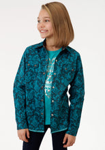 Performance Collection Westm Girls Long Sleeve Shirt 0706 River Paisley