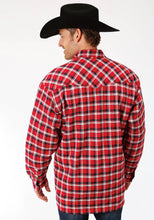 Outer Mens Jacket 9372 Narewh Plaid Sherpa Lined Jckt