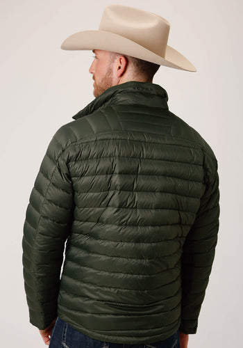 Roper Outerwear- Men's Outer Mens Jacket 00535 Parachute Down Filled Jacket