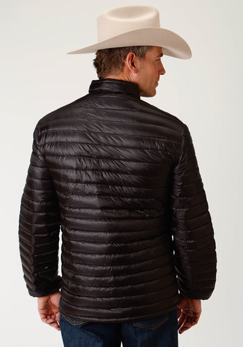 Roper Outerwear- Men's Outer Mens Jacket 2384 Black Ripstop