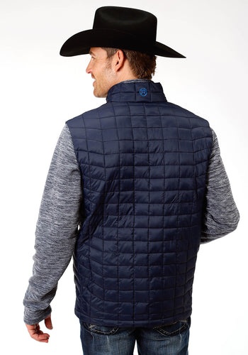 Roper Outerwear- Men's Outer Mens Vest 4043 Poly Filled Nylon Vest