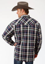 Outer Mens Jacket 9372 Grnabr Plaid Flannel Shirt Jckt