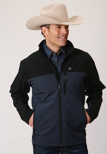 Roper Outerwear- Men's Outer Mens Jacket 00436 Pieced Softshell