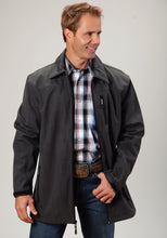 Roper Outerwear- Men's Outer Mens Jacket 0521 Textured Prt Wblk Fleece Backing