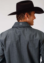 Roper Outerwear- Men's Outer Mens Jacket 1322 Textured Prt Wblack Mesh Backing