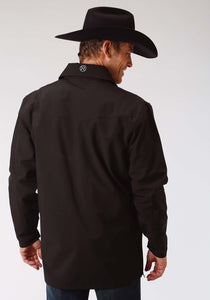 Roper Outerwear- Men's Outer Mens Jacket 1324 Black With Black Mesh Backing