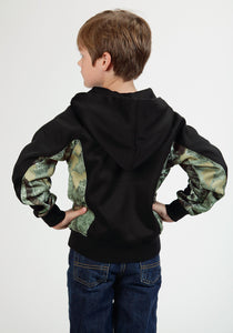 Roper Outerwear- Boys Outer Boys Jacket 0526 Jet Black