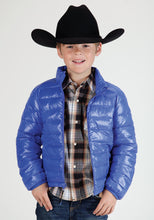 Roper Outerwear- Boys Outer Boys Jacket 0702 Royal Blue Wcharcoal Lining
