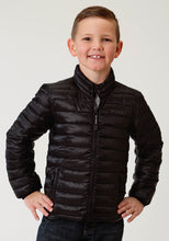 Roper Outerwear- Boys Outer Boys Jacket 2384 Black Ripstop