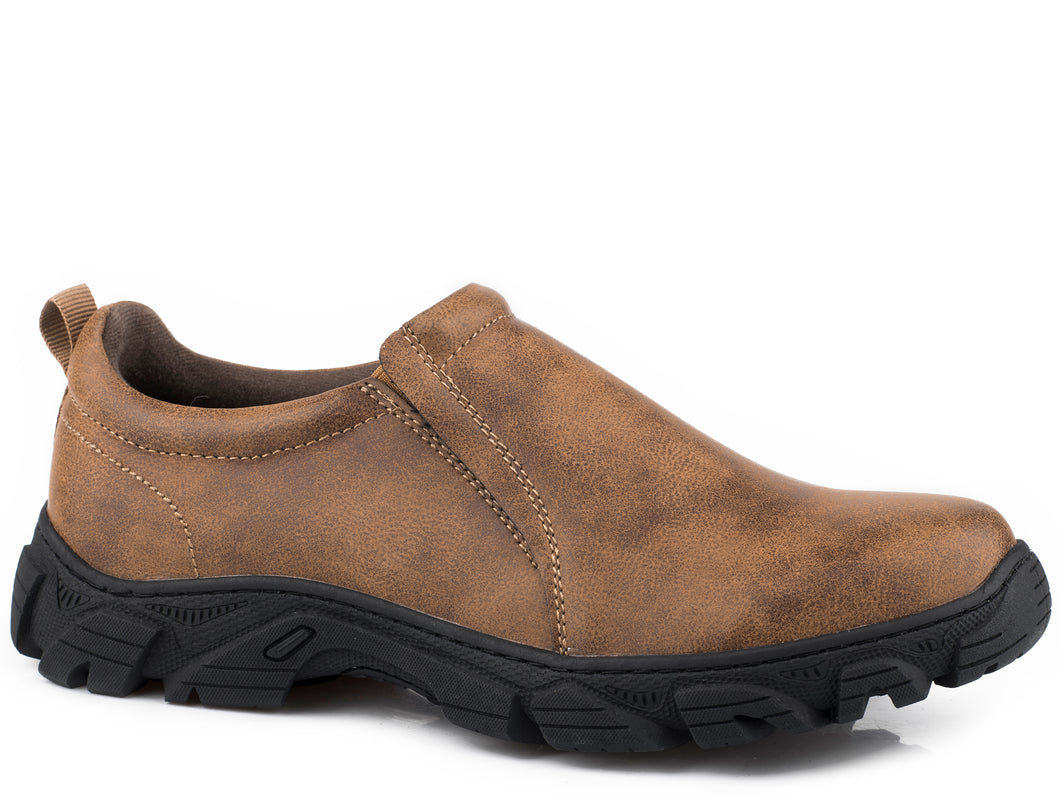 Cotter Boot Mens Boots Tan Tumbled Slip On
