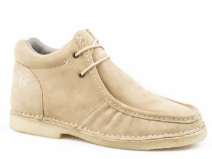Arnold Casual Mens Casual Tan Cow Suede Leather Upper
