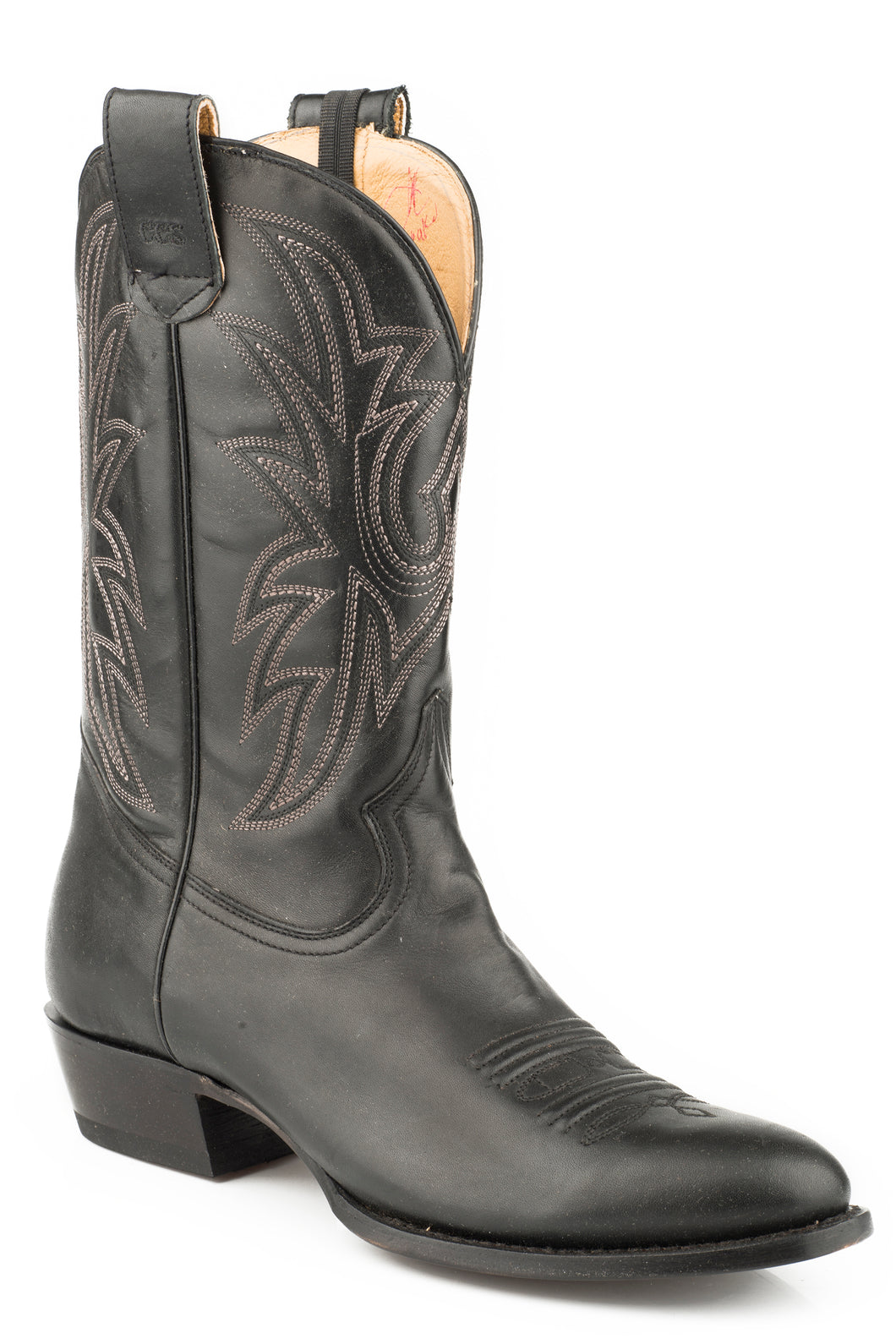 Score Special Boot Mens Boot Black Leather