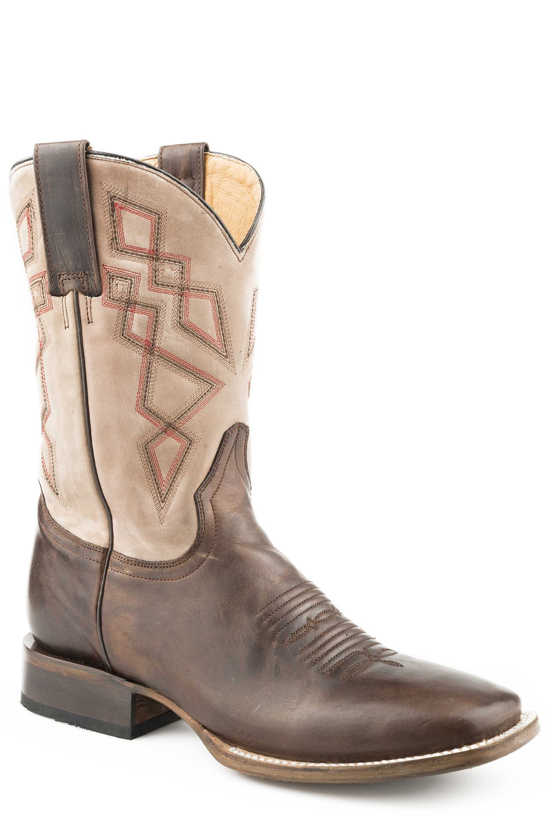 Ashkii Boot Mens Boots Waxy Brown Leather Vamp