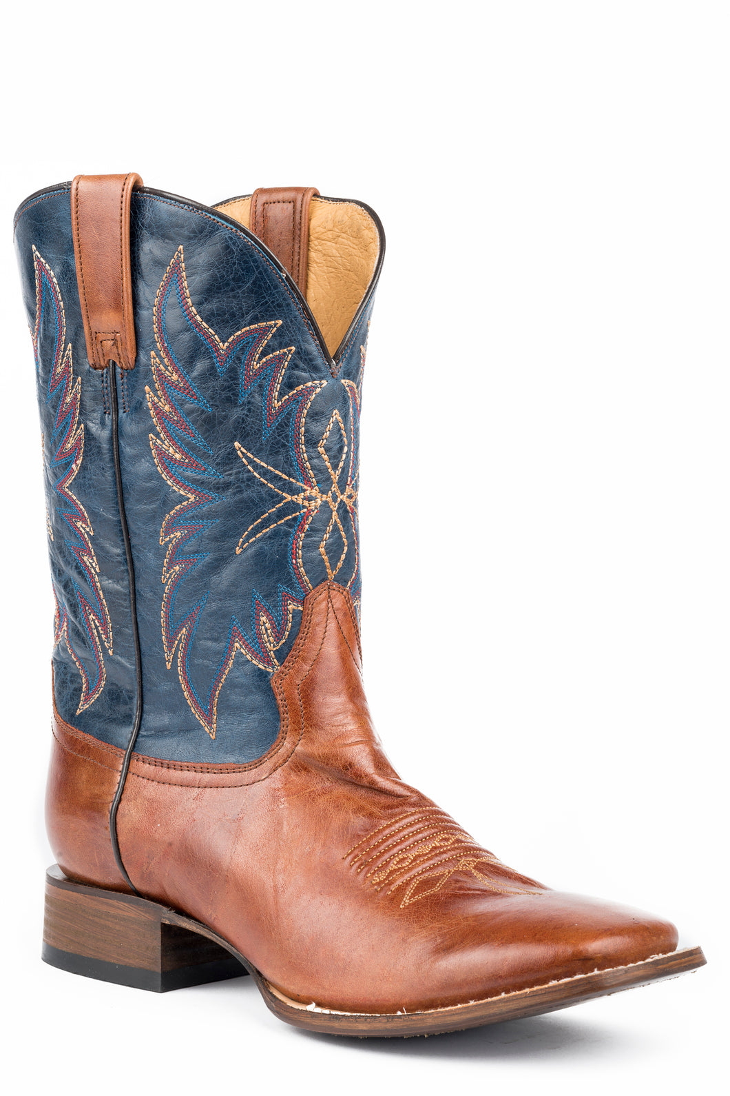 Chisholm Boot Mens Boot Marbled Brown Vamp