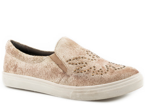 Mane Phoenix Casual Womens Casual Creme White Antique Brushed Suede All