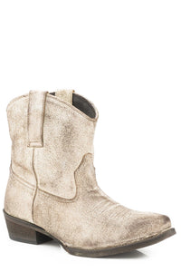 Dusty Boot Womens Boot Creme White Antique Brushed Suede
