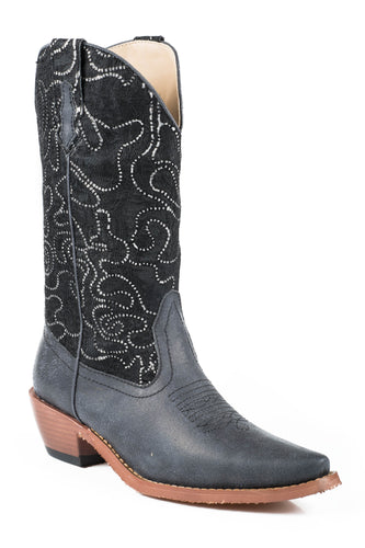 Crystal Boot Ladies Boot Lacecrystal Fabric Shaft Snip Toe