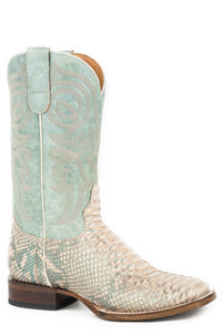 All In Boot Womens Boots Iridescent Python Vamp
