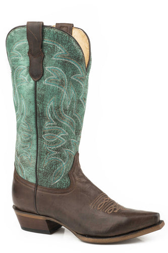 Classic Boot Womens Boots Burnished Brown Vamp