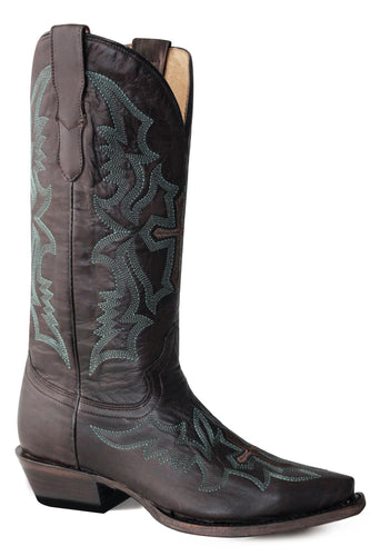 Sugarland Snip Boot Womens Boots Waxy Brown Vamp Shaft