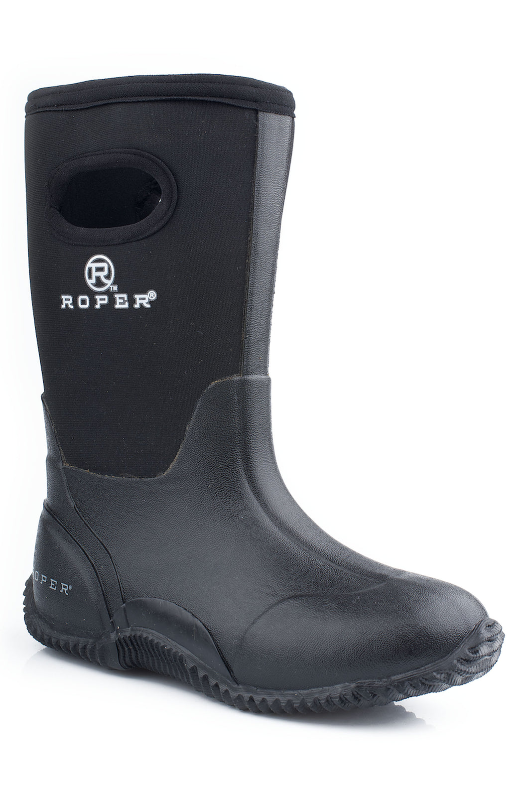 Barnyard Black Boot Youth Boot 10