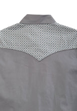 Tin Haul Collection Tinhaul Mens Long Sleeve Shirt 1557 Solid Poplin - Grey