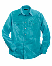 Tin Haul Collection Tinhaul Mens Long Sleeve Shirt 8744c1 Solid Stretch Poplin