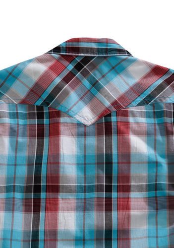 Tin Haul Collection Tinhaul Mens Long Sleeve Shirt 0254 Wonder Plaid
