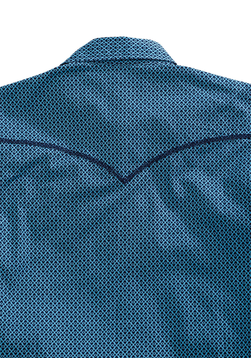Tin Haul Collection Tinhaul Mens Long Sleeve Shirt 1338 Knotted Geo Print
