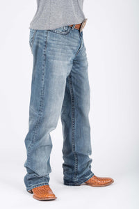 Tin Haul Guys Jeans Tinhaul Mens Jeans Pcd Back Pkt Wlined Deco Stitch